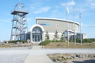 Sainte-Anne-des-Monts, Quebec - Exploramer Aquarium