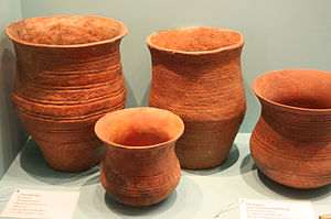 Beaker (archaeology) - Bellbeakers at the Berlin Museum of Prehistory and Early History. Museum für Vor- und Frühgeschichte, Berlin.