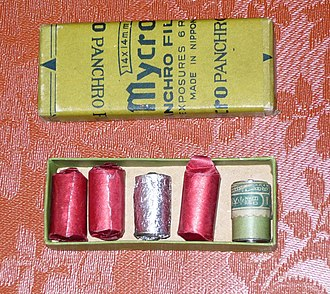 TONE camera - Paper backed 17.5 mm roll film