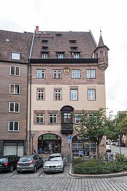 Weinmarkt in Nürnberg