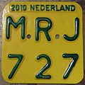 NETHERLANDS 2010 -SCOOTER PLATE - Flickr - woody1778a.jpg