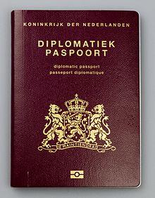 5bfe64c9b8b Diplomatiek paspoort - Wikipedia