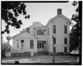 NORTH (REAR) ELEVATION - General Phineas Banning Residence, 401 East M Street, Wilmington, Los Angeles County, CA HABS CAL,19-WILM,2-27.tif