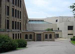 North Quincy High School - Image: NQHS old new