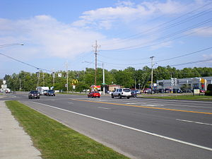 New York State Route 21 - Northern terminus of NY 21 at NY 104 in Williamson