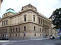 Na rejdišti a Alšovo nábřeží, Rudolfinum.jpg