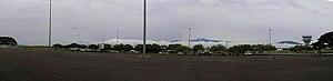 Lae Nadzab Airport - Image: Nadzab Panorama 1