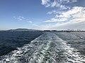 Nagasu Port and Mount Shotaizan from Ariake Ferry.jpg