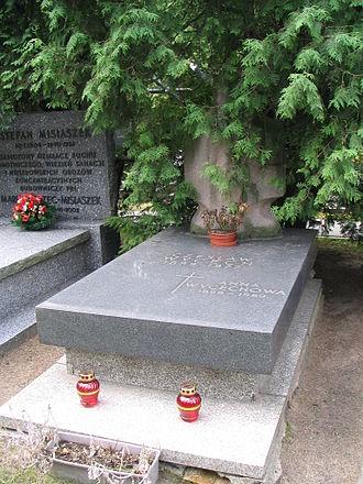 Czesław Wycech - Czesław Wycech tombstone