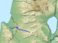 Nahal Tzipori Route.png