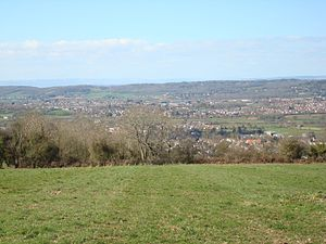Nailsea - Image: Nailsea and Backwell