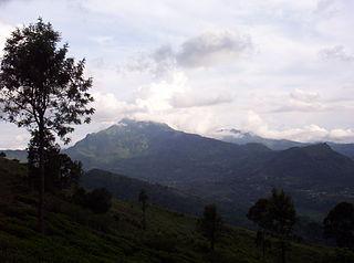Namunukula mountain in Sri Lanka