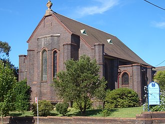 Naremburn, New South Wales - Image: Naremburn St Cuthberts Anglican Church