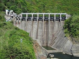 Narude Dam Dam in Toyama/Gifu Prefecture
