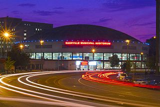 Nashville Municipal Auditorium Arena in Tennessee, United States