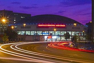 Nashville Municipal Auditorium - Image: Nashville Municipal Auditorium