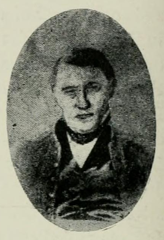 Nathan Boone - Nathan Boone portrait, from the 1908 book, A History of Missouri, Vol. III by Louis Houck