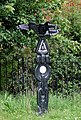 National Cycle Network Signpost near King's Norton, Birmingham - geograph.org.uk - 1726425.jpg