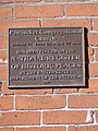 National Register of Historic Places plaque for Pawtucket Congregational Church; Lowell, Massachusetts; 2012-05-19.JPG