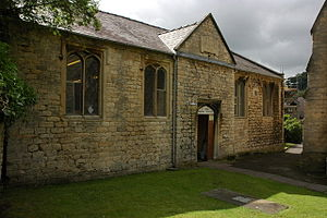 National school (England and Wales) - Former National School (built in 1833) in St James's churchyard, Dursley, Gloucestershire