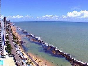 Natural pools - Boa Viagem Beach - Recife, Pernambuco, Brazil