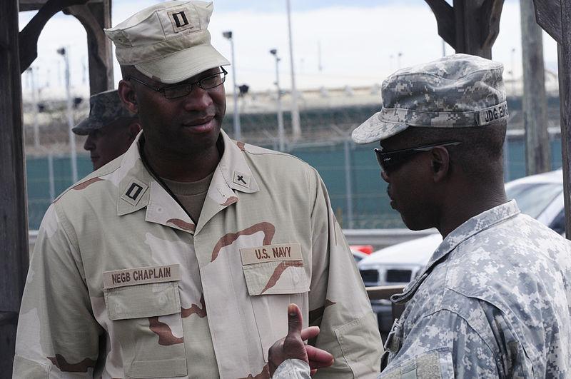File:Navy Chaplain working at JTF Guantanamo DVIDS358434.jpg