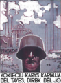 Nazi propaganda poster in Lithuania.png
