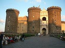 El Castel Nuovo, Nápoles