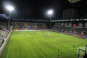 Dr. Necmettin Şeyhoğlu Stadium - Image: Necmettin Şeyhoğlu Stadyumu