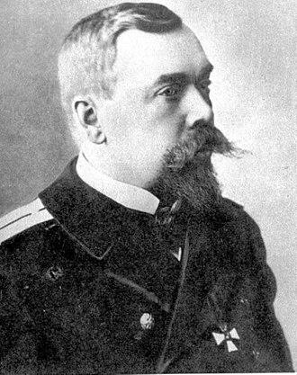 Adrian Nepenin - Lietenuent Adrian Ivanovich Nepenin, c. 1900.