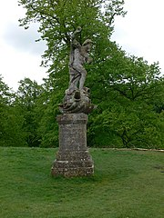 Statue of Neptune About 320 Metres East of Dyrham House