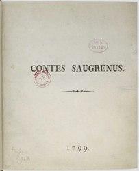 André-Robert Andréa de Nerciat: Contes saugrenus