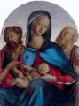 Neroccio di Bartolomeo Landi, Madonna col Bambino, San Giovanni Battista e San Girolamo (c.1500).png