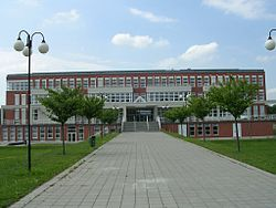 New building of University of Hradec Kralove, Czech Republic.jpg