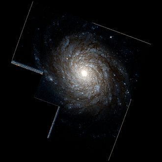 NGC 4030 - NGC 4030 imaged by the Hubble Space Telescope