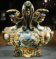Ngv, maiolica di urbino, bottega di fontana e patanazzi, vaso di caino e abele, 1580 circa 03.JPG