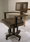Ngv design, frank lloyd wright, office chair larkin, 1904-06 02.JPG