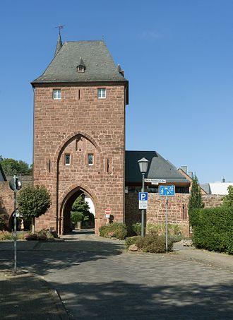 Nideggen - Towngate: das Zülpicher Tor