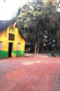 Nilambur Railway Station old entrance