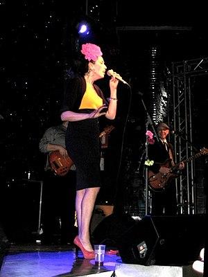 Nina Zilli - Nina Zilli in concert in 2009