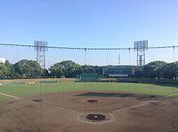 Nishikyogoku baseball stadium140726.JPG