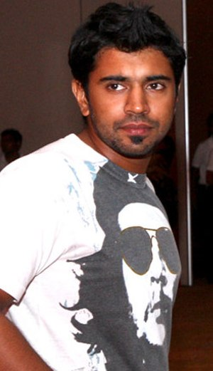 Nivin Pauly - Pauly at CCL2 party, Vizag, India, 2011