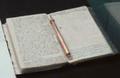 Njegoševa bilježnica sa perom.png
