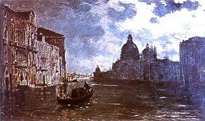 Alberto Orrego Luco - Venice Nocturne