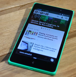 Nokia X family - Nokia XL, released at the end of Q2