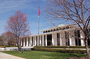The North Carolina Legislative Building in Ral...