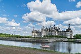 North-west exposure of the Chambord Castle 05.jpg