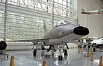 North American F-100 Super Sabre, Evergreen Air Museum, McMinnville, Oregon.jpg