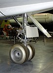North American XB-70A Valkyrie nosewheel detail, National Museum of the US Air Force, Dayton, Ohio, USA. (44709364580).jpg