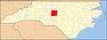 North Carolina Map Highlighting Randolph County.PNG